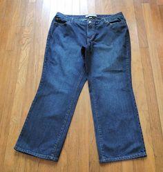 Women Venezia Rigid Boot cut Jeans Size 20 Petite #Venezia #BootCut