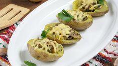 Sprawdzone i proste przepisy na potrawy domowe także dla początkujących w kuchni Baked Potato, Potatoes, Baking, Ethnic Recipes, Food, Bread Making, Meal, Bakken, Hoods