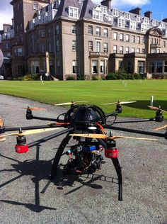 Preparing to capture some magnificent aerial footage of Gleneagles. Aerial Camera, Aerial Footage, Stables, Drones, Scotland, Film, Movie, Horse Stables, Film Stock