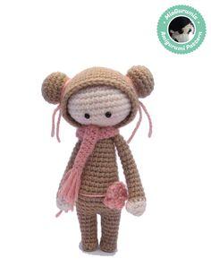 Crochet amigurumi pattern - Doll amigurumi, Doll pattern, Plush doll by MiaGurumis on Etsy https://www.etsy.com/listing/217144410/crochet-amigurumi-pattern-doll-amigurumi