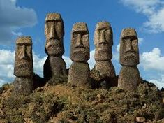When Archaeologists Dug Below The Easter Island Heads, They Made An Astonishing Discovery Tinian Island, Easter Island Statues, Easter Island Moai, Marine Corps Bases, Tiki Head, Destination Voyage, Destinations, Famous Places, Archaeology
