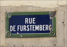 La rue de Furstemberg  (Paris 6ème)