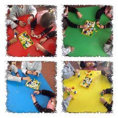 Matemáticas. Practicamos la suma con construcciones. E. Infantil 5 años. Colegio Ntra. Sra. Santa María. Madrid