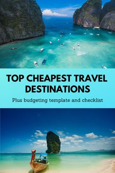 A few tips and tricks when it comes to cheap places to travel and how to budget vacations. Inexpensive vacation ideas and vacation planning printables. Cheap Vacation Spots, Cheap Places To Travel, Couples Vacation, Vacation Places, Cheap Travel, Family Summer Vacation Ideas, Couples Weekend Getaway Ideas, All Inclusive Urlaub, All Inclusive Vacations