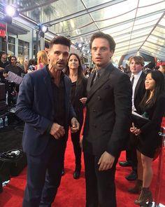 Seb and Frank Grillo at the Captain America Civil War premiere! #sebastianstan #frankgrillo #buckybarnes #crossbones #captainamericacivilwar #captainamericacivilwarpremiere #teamcap