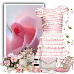 """""""Soft Pink"""" by justjules2332 on Polyvore"""