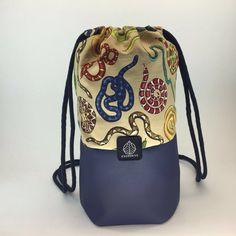 Ka Bag - 2016  eco-leather and fabric, handmade 26cm*36,5cm
