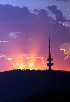 Sunrise in Canberra - Australia
