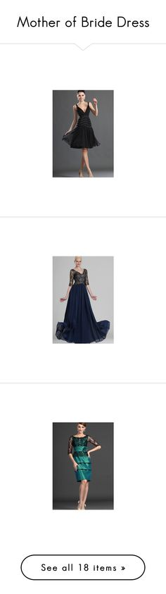 """""""Mother of Bride Dress"""" by kussk ❤ liked on Polyvore"""