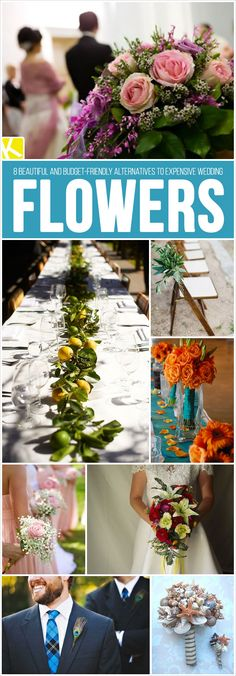 8+Beautiful+and+Budget-Friendly+Alternatives+to+Expensive+Wedding+Flowers