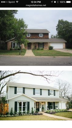 HGTV Fixer Upper. Magnolia Homes. The Shingle Shack before & after. http://magnoliahomes.net/fixer-upper-season-2/