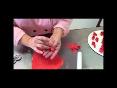 How to make a multi loop bow out of fondant or gumpaste