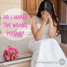 Do you ever have hard days in your marriage and wonder if you married the wrong person?