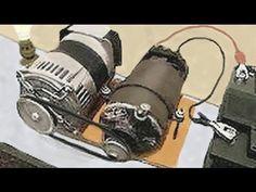 Self Running 40kW 40,000 Watt Fuelless Generator Full Video - YouTube