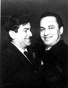 """The great singer Mukesh was Raj Kapoor's voice in most of his films. Not surprisingly, when Mukesh died, Kapoor commented, """"Main ne apni aawaaz ko kho diya..."""" (I have lost my voice). National Film Awards, Bollywood Stars, Cannes Film Festival, Classical Music, Golden Age, The Voice, Real Life, Singers, Legends"""