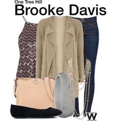 Inspired by Sophia Bush as Brooke Davis on One Tree Hill.