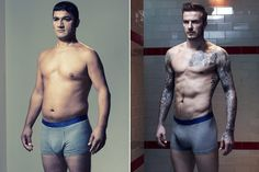 HM, Homem Normal x David Beckham