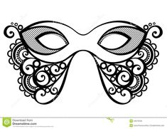 Masquerade Mask By Iryna Kryvoruchko Via Dreamstime  Costume