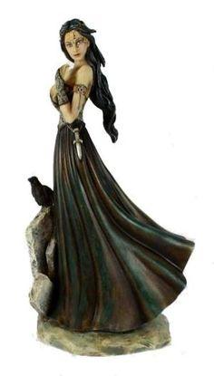 Jessica Galbreth *Morrigan* 2011 Goddess Figurine