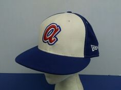 Atlanta Braves Cooperstown Collection Hat 100% Wool made in USA