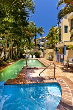 Tropical surroundings in the Gold Coast, Queensland