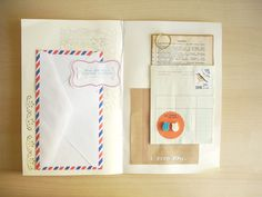 Envelope book - book of notes via oh hello friend