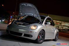 New Beetle 2008 com projeto V6 (200HP) de 6 marchas e aro 16