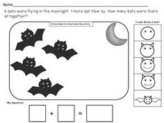 BEGINNING FALL THEMED ADDITION WORD PROBLEM WORKSHEETS - TeachersPayTeachers.com $2