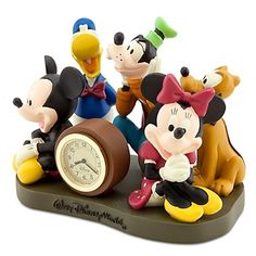 Disney Clock - Walt Disney World Mickey Mouse and Friends