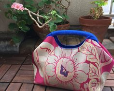 Obi Purse / Obi / Kimono purse / BK953 Gorgeous by RummyHandmade