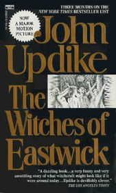 The Witches of Eastwick  Vastly different than the film   (which is a guilty pleasure for me)  I read and re read this one many times   ABSOLUTELY love..and think I'm due for a revisit.