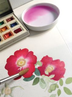 Beginner Watercolor Tips   Your Guide to Painting Flowers and Beyond   Want to try your hand, or rather brush, at watercolor? Or, simply want a refresher on the basics? Either way, botanical artist Adel Rossetti Morosini has you covered. She shares great beginner watercolor tips for painting flowers as well as essential tricks for working with the medium that go beyond creating florals.   #watercolortips #paintingflowers