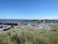 Blick vom #Trolbjerg in Hvide Sande #HvideSande #Dänemark #RingkøbingFjord #Nordsee