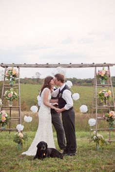 Photo by: This Modern Romance on Southern Weddings