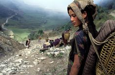 pomeray: Chhetri woman, Dhorpatan, Nepal by Bruno Morandi, 1990