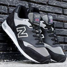 wholesale dealer 20900 f938a New Balance 577 Carbon Fiber (Black Grey) - Sneaker Freaker