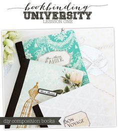 DIY Composition Notebooks | Damask Love Blog