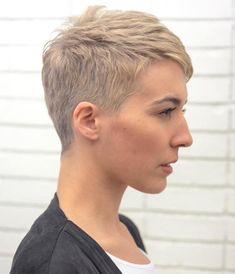 Short Boyish Cut For Girls