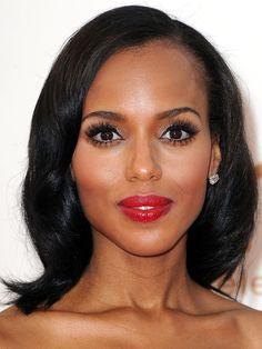 Kerry Washington, 2011 http://beautyeditor.ca/2013/11/08/kerry-washington-hair-and-makeup/