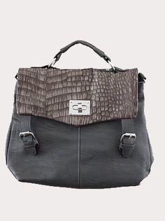 MissFox Classical Office Lady Minimalist Satchel Handbag Tote ...
