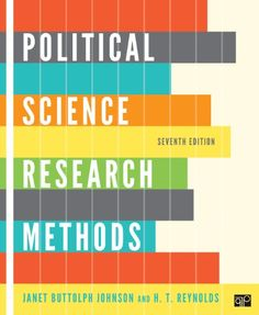 Political Science Research Methods, 7th Edition by Janet Buttolph Johnson, Ht Reynolds #Research #Politics