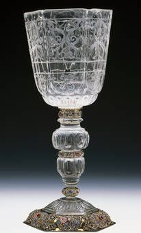 """Copa seisavada"", Johann Daniel Mayer, 1662-1675.  Tesoro del Delfín"