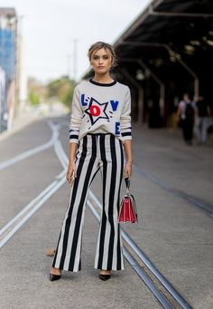 Challenge Vertical Stripes With the Horizontal Ones on Your Top