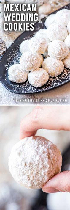Mexican Wedding Cookies | Recipe | Mexican wedding cookies, Crowd ...