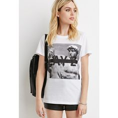 Forever 21 Lay Z Graphic Tee ($15) ❤ liked on Polyvore