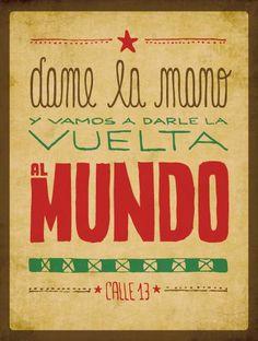 * Canción de Calle 13 *