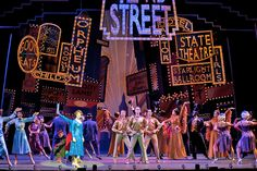 All new in sets, props, costumes, and backdrops available for rent nationwide. Set Design Theatre, Stage Design, 42nd Street Musical, Guys And Dolls Musical, The Pajama Game, Saturday Night Fever, Japan Street, Broadway Nyc, Singing In The Rain