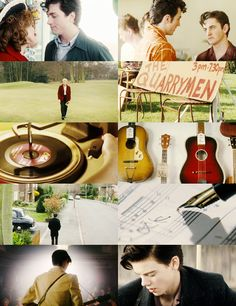 """Nowhere Boy. """"Is nowhere full of geniuses, sir? Because then I probably do belong there. The Best Films, Great Films, Good Movies, Sam Taylor Johnson, Aaron Taylor, Nowhere Boy, The Danish Girl, Newt Maze Runner, Film Strip"""