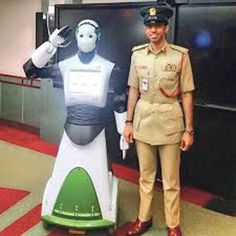 'Robot Cop' may be on patrol by 2020 Robots could do the work of a police officer on ground: Police Official - Emirates 24|7 - 6/1/16