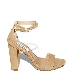 Ankle Strap Sandals in Leather | Steve Madden CARRSON (size 9)